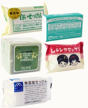 浴用石鹸の一例